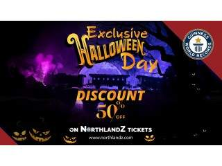 Exclusive Halloween Day Discount 50% off on Northlandz Tickets