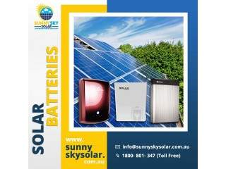 Solar Batteries | Batteries For Solar Inverters | Sunny Sky Solar