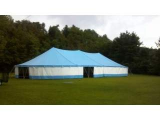 LARGE POLE TENTS & AIR SUPPORTED DOME ARENAS FOR SALE!