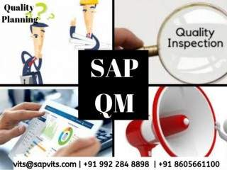 SAP QM (Quality Management) Online Training Course in India, USA, UK, Canada