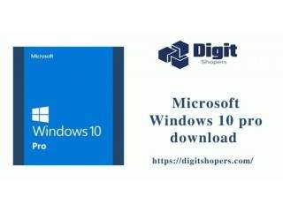 Get Microsoft Windows 10 Pro download
