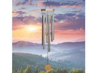 Unique Wind Chimes Outdoor, Large Deep Tone Windchime
