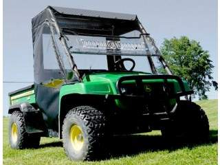 John Deere Gator side doors – full cab enclosure along with aero-vent windshield
