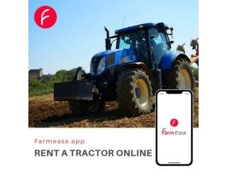 Rent a Tractor Online | Farmease