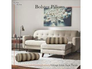 Bolster Pillow | Handmade Bolster Pillow | Buy Bolster Pillow Online in USA